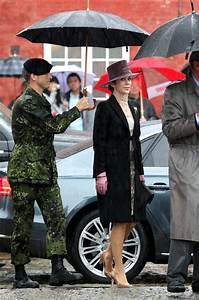 Princess Mary Photos Photos - Danish Royals brave the rain ...
