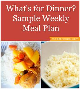 Weekend Meal Planner What S For Dinner This Week Modernmami
