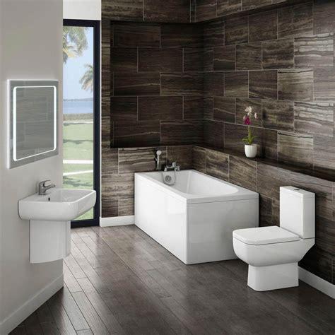 small modern bathroom suite  victorian plumbing uk
