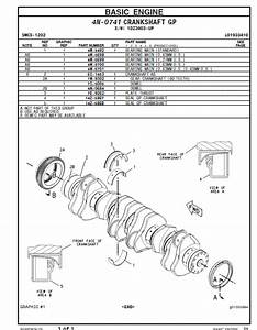 Cat 3406c Generator Set Parts Manual