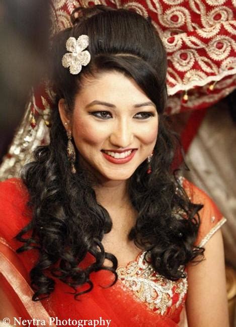 indian hair styles for hair 21 gorgeous indian bridal hairstyles indian makeup and