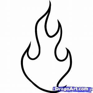 How to Draw Fire for Kids, Step by Step, Dragons For Kids ...