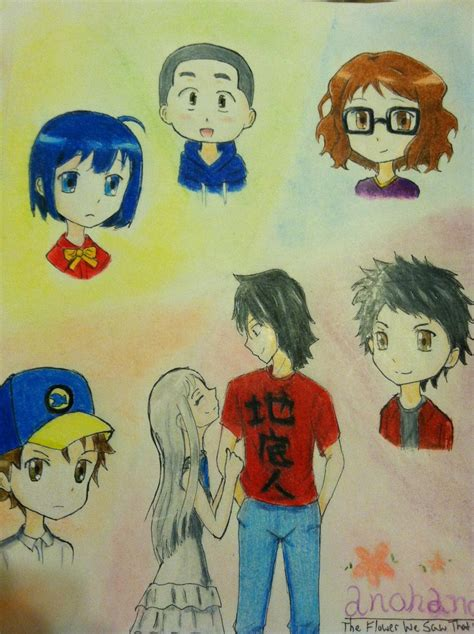 anime anohana the flower we saw that day sub indo anohana the flower we saw that day by enolaholmes13 on