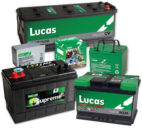 Lucas Batteries, Lucas Battery & Lucas Car Batteries