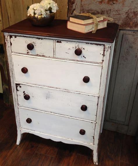 white rustic dresser vintage dresser chest of drawers white dresser