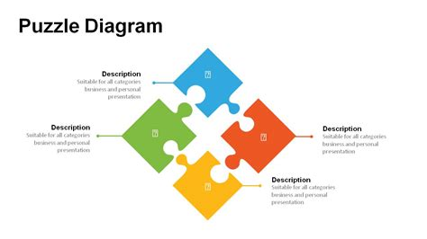 jigsaw puzzle pieces powerpoint templates powerslides