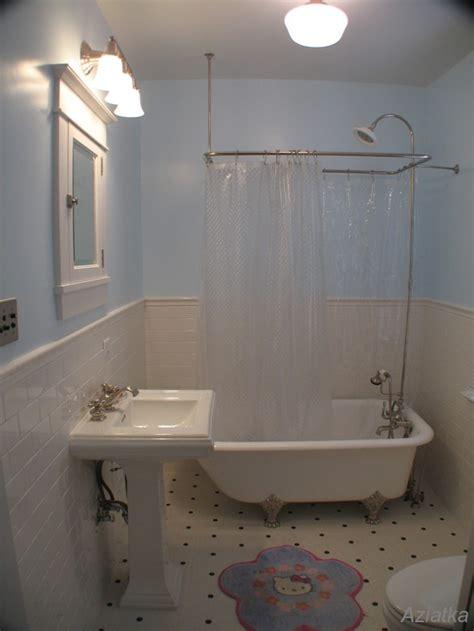 bathroom beadboard ideas 30 ideas of a bathroom with subway tile and chair rail