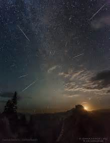 Perseid Meteor Shower Yosemite