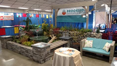 Water Feature — Home & Garden Expo  Brookside Landscape