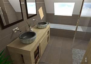 tendance carrelage salle de bain meilleures images d With salle de bains tendance