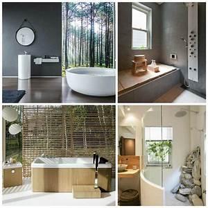 Photo salle de bain zen idees pour une decoration relaxante for Salle de bain design avec décoration mariage antillais