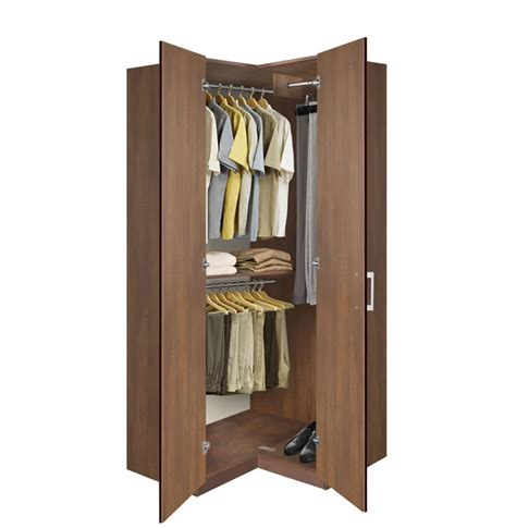 bathroom closet door ideas corner wardrobe corner closet w three hangrods