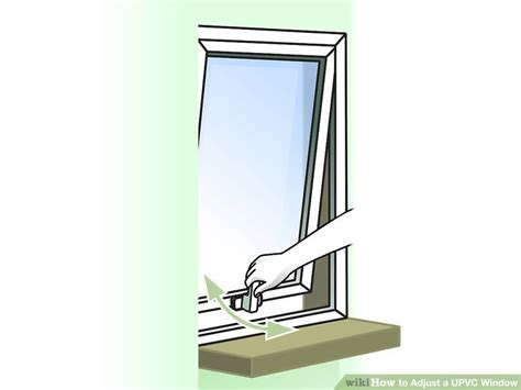 4 inch screws how to adjust a upvc window 9 steps with pictures wikihow