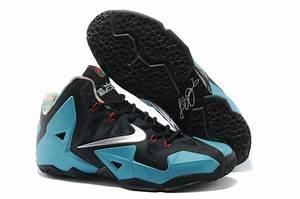 Cheap New Nike Lebron James 11 Low Black Blue Shoes ...