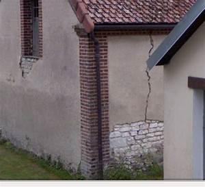 Reboucher Grosse Fissure Mur Exterieur : fissure dans un mur porteur craie ~ Louise-bijoux.com Idées de Décoration