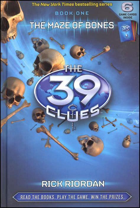 Sara's Blog 39 Clues Maze Of Bones