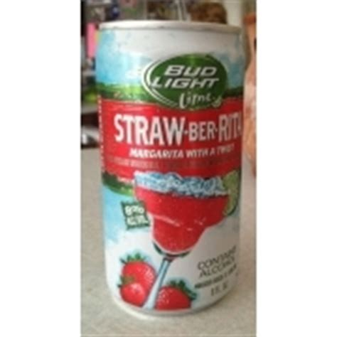 bud light lime ingredients bud light lime strawberita calories nutrition analysis
