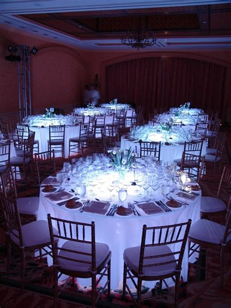 glow table event lighting orlando