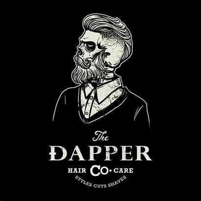Barber Vector Skull Hipster Premium
