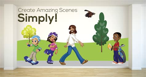 wall stickers creative for kids