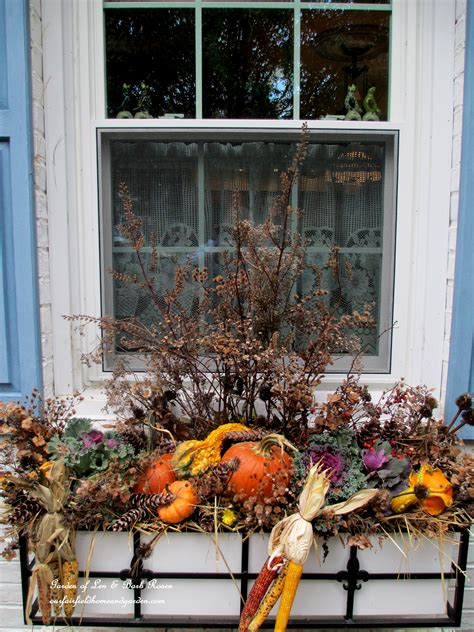 Fall Decorating at Our Fairfield Home & Garden