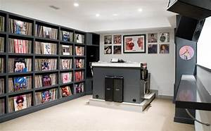 Music/DJ Room - Transitional - Home Theater - Boston - by