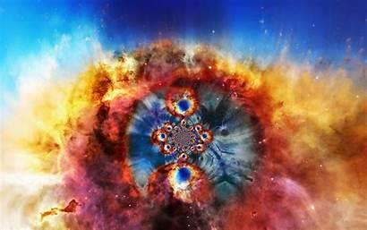 Nebula Helix Fractalis Wallpapersafari Deviantart Becuo Fractal