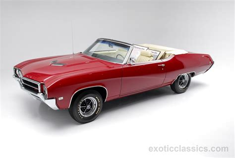 1969 Buick Gran Sport Gs400 Convertible Red Classic Cars