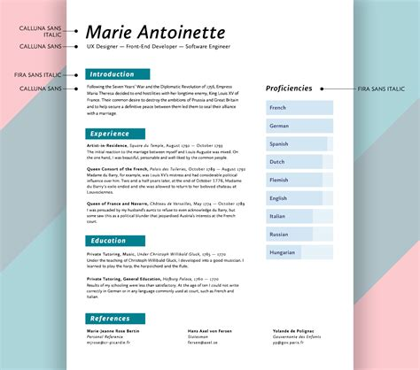 What Font Should I Use For A Resume by What Fonts Should I Use On My R 233 Sum 233 Union Io