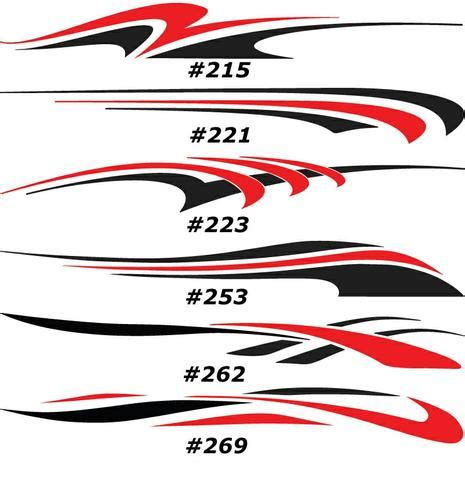 Boat Trailer Graphics by 2 Color Vinyl Graphics Auto Truck Car Boat Trailer Race
