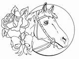 Horse Drawing Coloring Pages Printable Getdrawings sketch template
