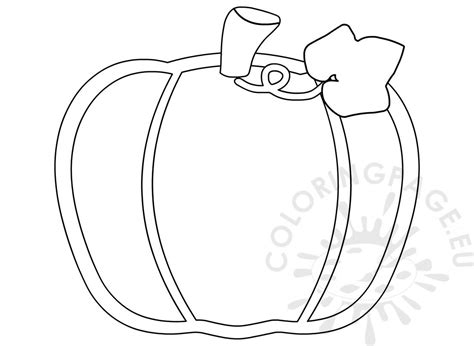 simple pumpkin  leaf drawing printable coloring page