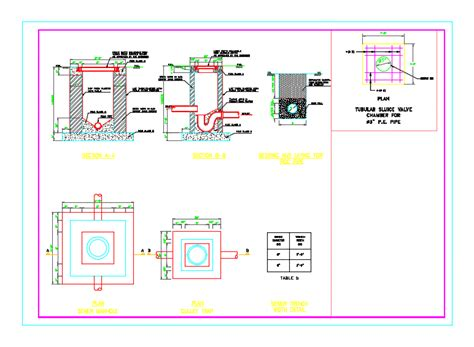 detail sewer wastewater dwg detail  autocad designs cad