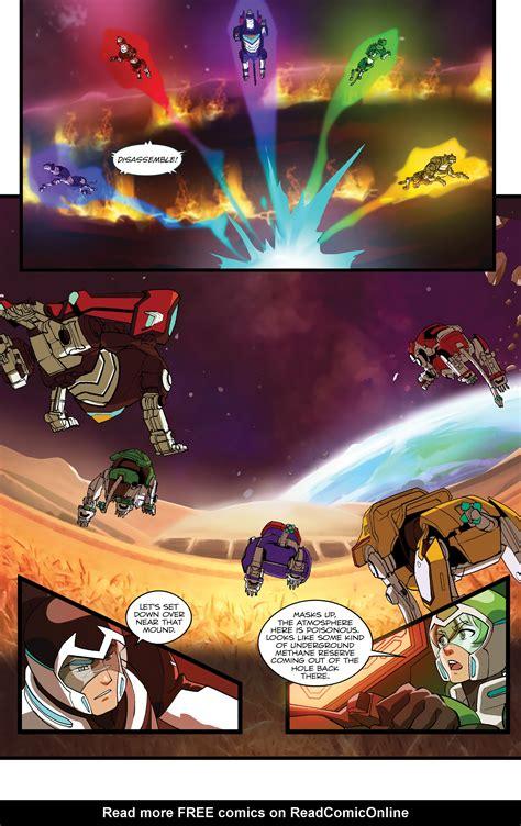 Read Online Voltron Legendary Defender Comic Issue 5
