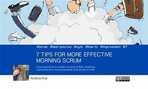 7 tips for more effective morning SCRUM
