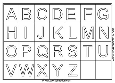 a z alphabet coloring pages and print for free