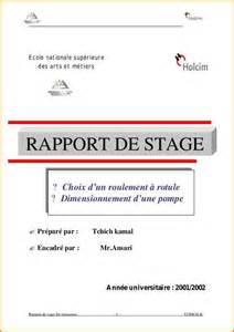 modele rapport de stage remerciement - Document Online