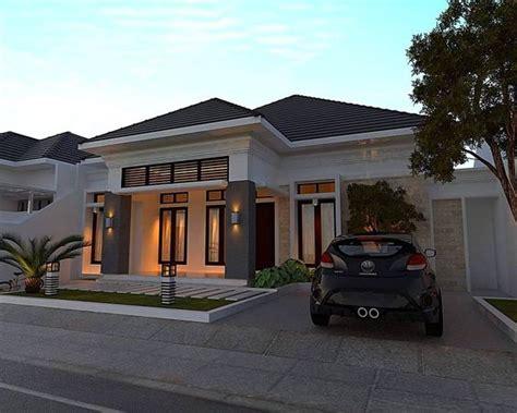 desain rumah klasik modern  lantai renovasi rumahnet