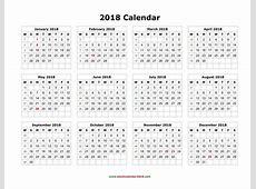 Pin by Calendar Printable on 2018 Calendar Calendar