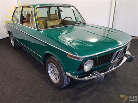 Classic 1973 Bmw 2002 Jade Green For Sale 9042 Dyler