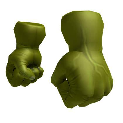 hulk hands roblox wikia fandom powered  wikia