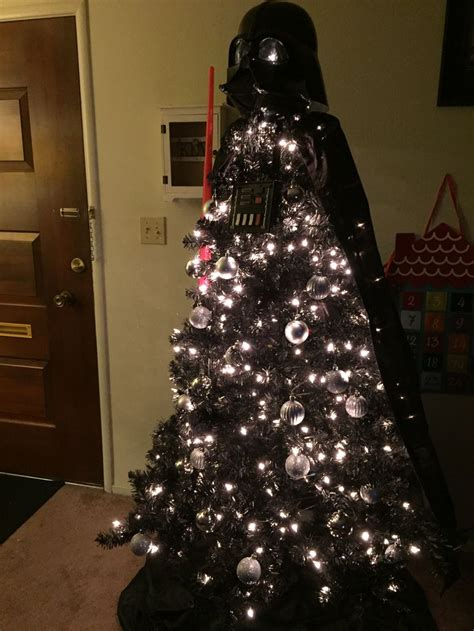 darth vader christmas tree 17 best images about star wars on pinterest christmas trees themed parties and the force