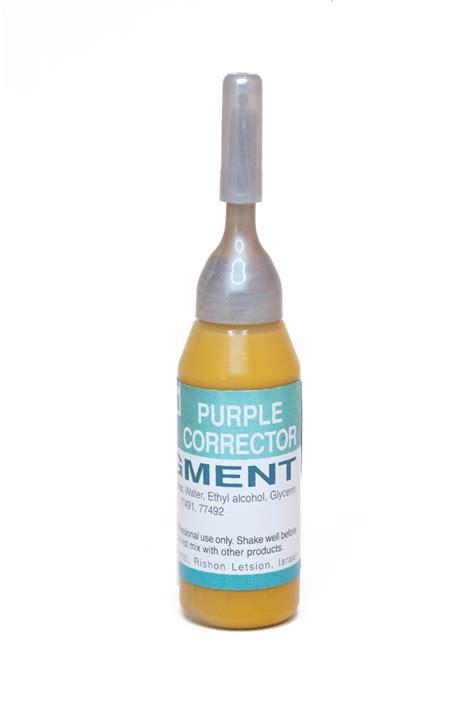 purple color corrector purple pigment corrector a i schendel canada