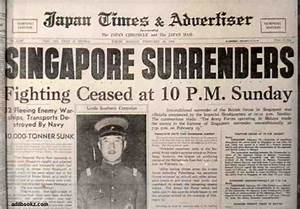 The Fall of Singapore – Final Disaster in Malaya