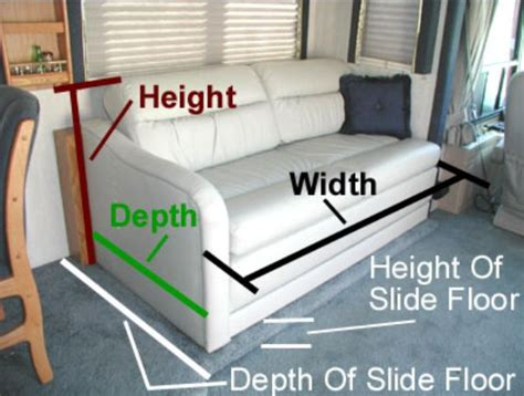 throw out that lumpy sofa you need a new rv sofa bed