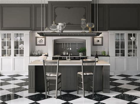 cuisine à l ancienne craquez pour une cuisine grise décoration
