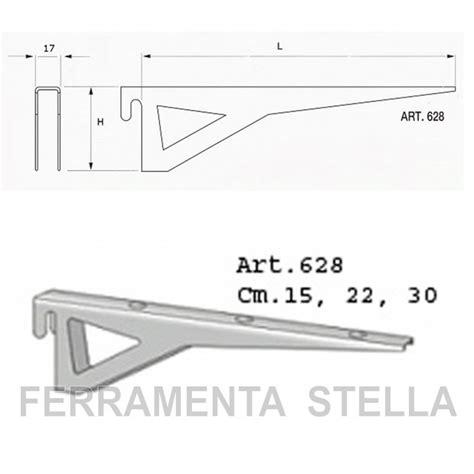 Mensole A Cremagliera by Mensola Reggipiano Per Aste A Cremagliere 15 Cm Colore