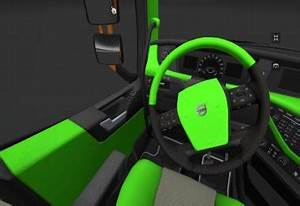 Volvo FH16 2012 Lime green and Black Interior Modhub