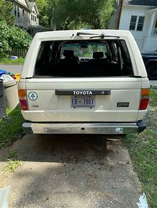 1988 Toyota 4runner 1st Gen 2 4 Liter 4 Cyl 5 Spd Manual
