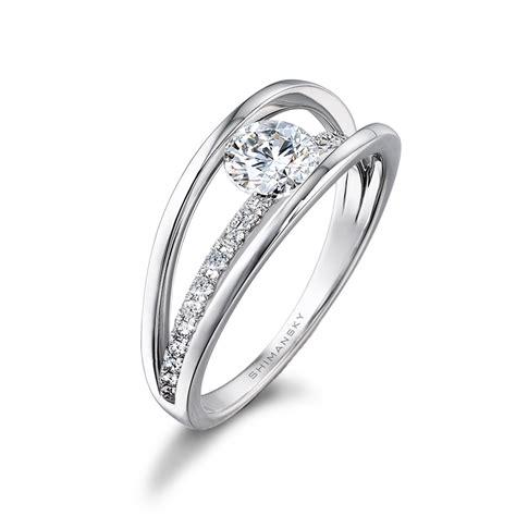 gold princess cut engagement rings shimansky gold evolym engagement ring shimansky